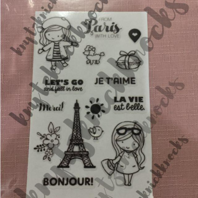 Paris with love - Transparent stickers