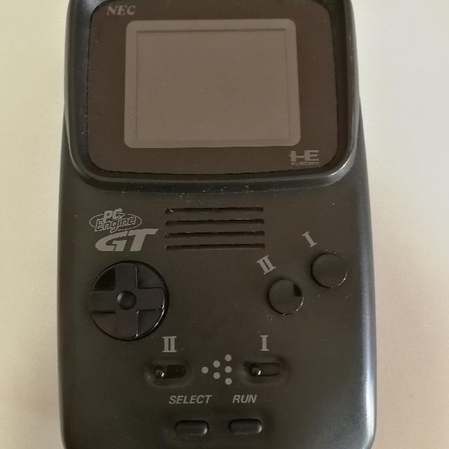 PC Engine GT handheld console