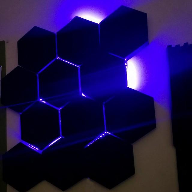 Pentagon Hex Acoustic Foam