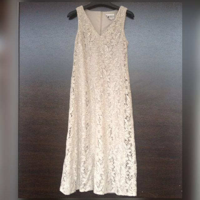 Prada Lace Sleevless Dress