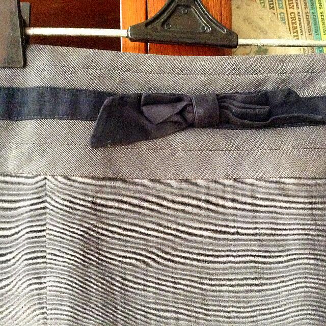 Preloved Target Grey Skirt (Size L)