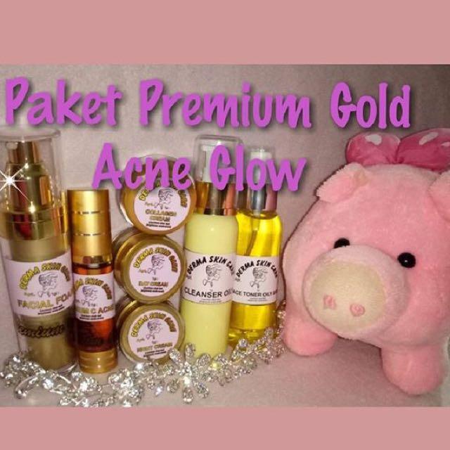 Premium Gold Acne Glow
