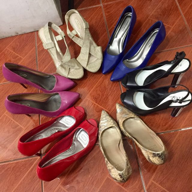 Pumps, Heels (sizes 6.5-7) READ DESCRIPTION