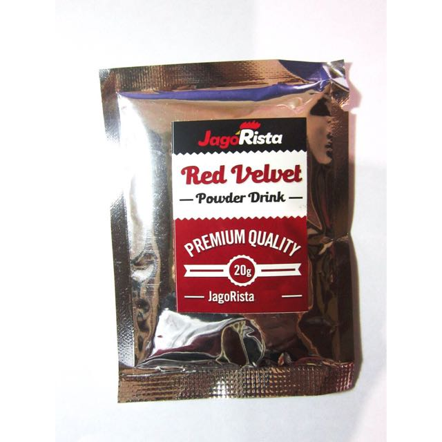 Red Velvet Drink Powder
