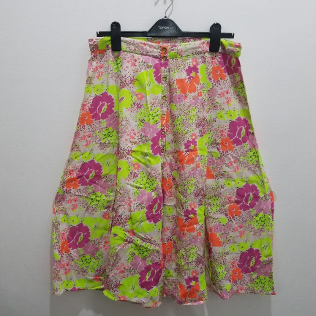 River Island Colorful Long Skirt - Size 14