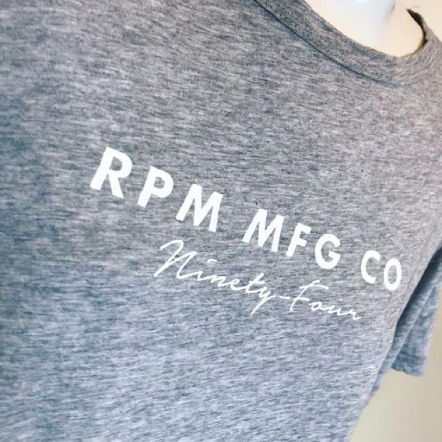 RPM tee