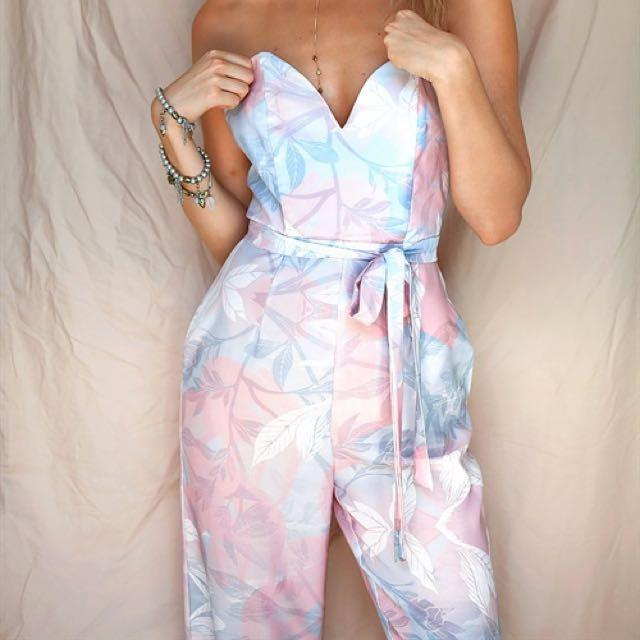 Sabo Skirt Jumpsuit Floral