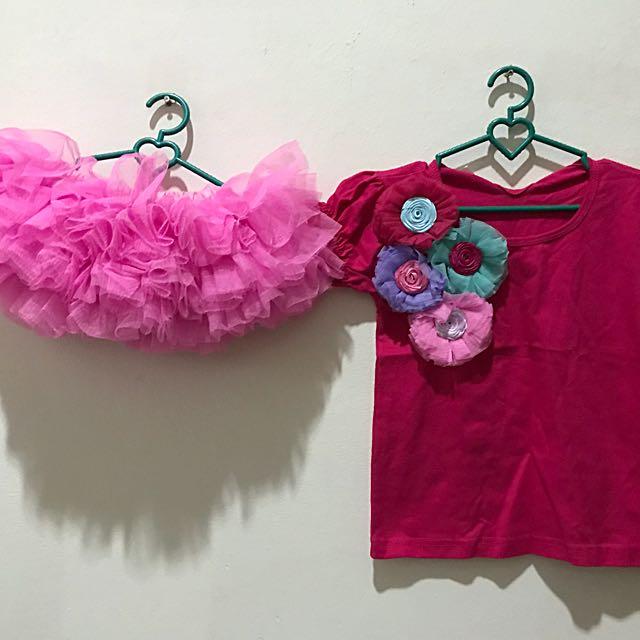 Set Tutu Pink