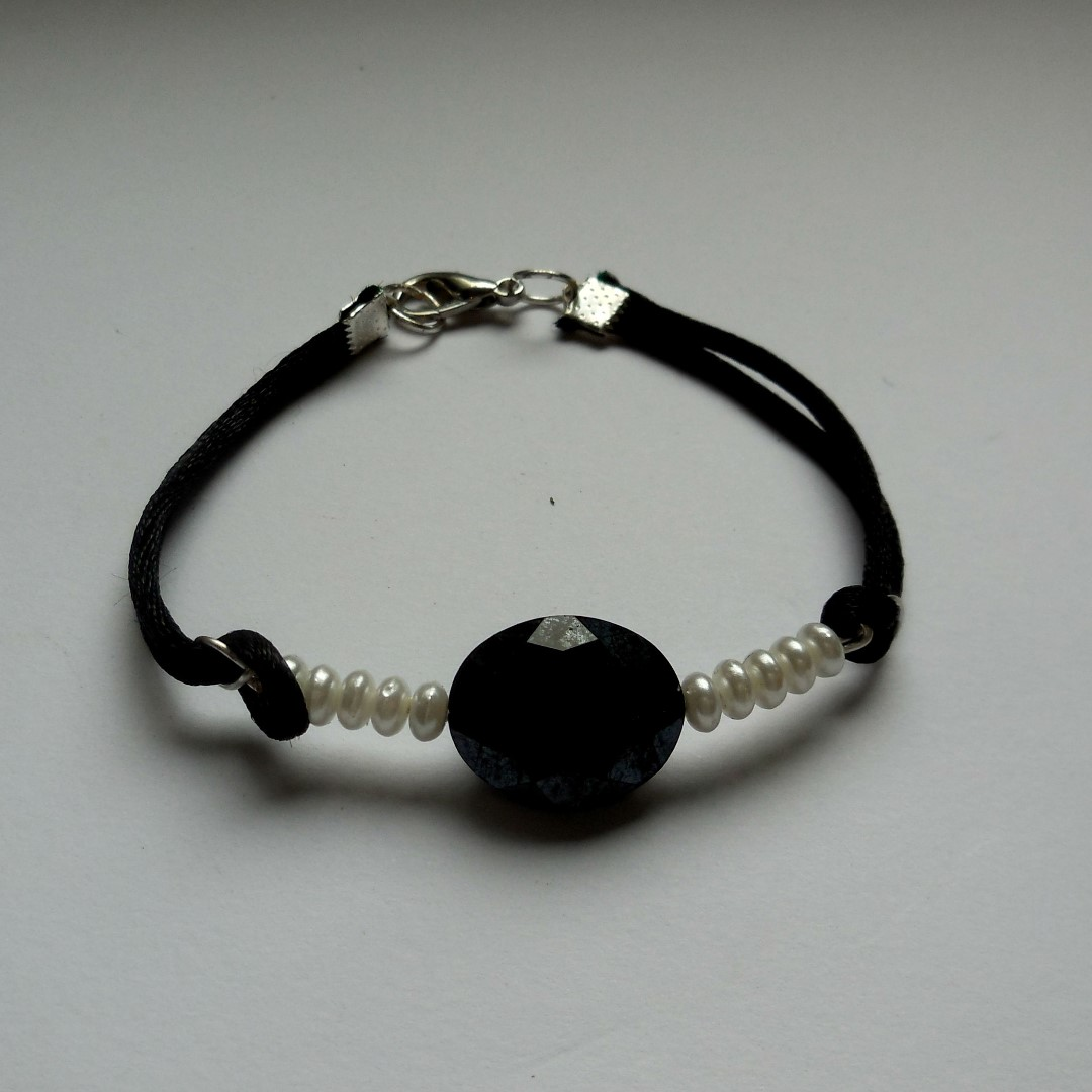 promo with leather crystal singles bracelet and p day faux pearls uranus cord photo