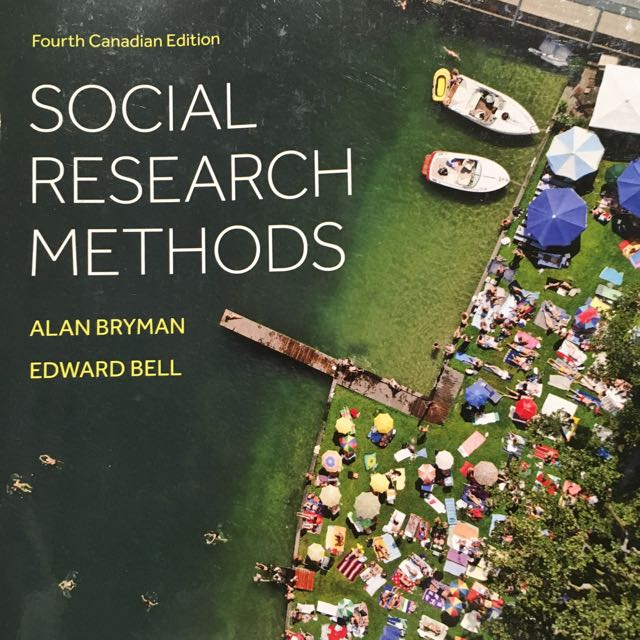Social Research Methods by Bryman & Bell