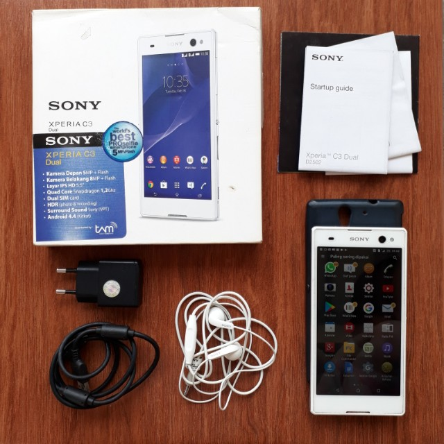 Sony Xperia C3 Dual FULLSET
