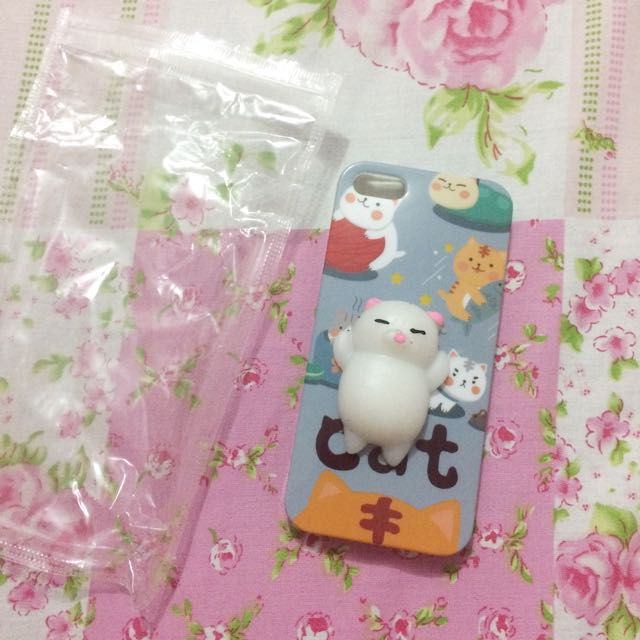Squishy cat case for Iphone 5s