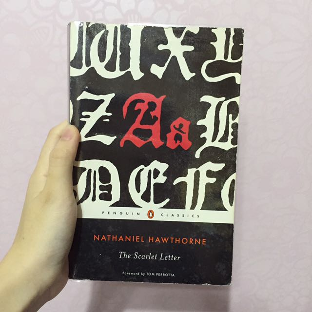 The Scarlet Letter By Nathaniel Hawthorne Books Stationery