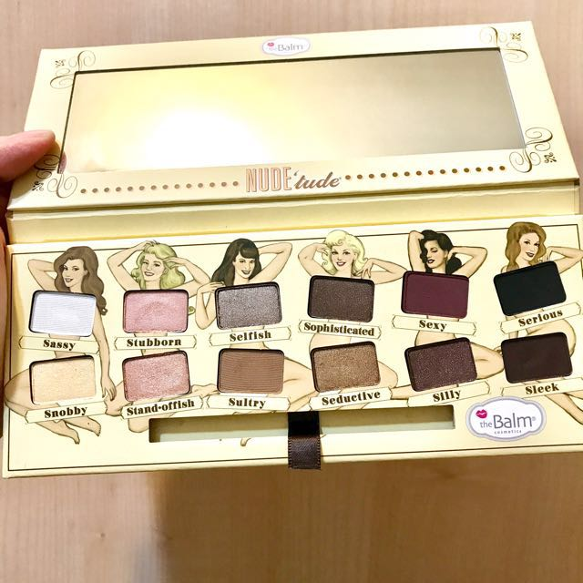 (二手彩妝免運)美國theBalm NUDE Eyeshadow Palette 裸女眼影盤(有留盒子喲)