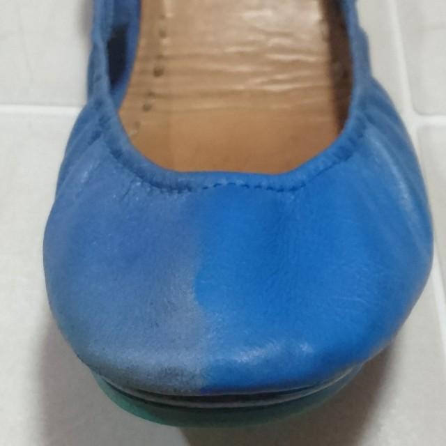 Tieks Cobalt Blue Color Restoration