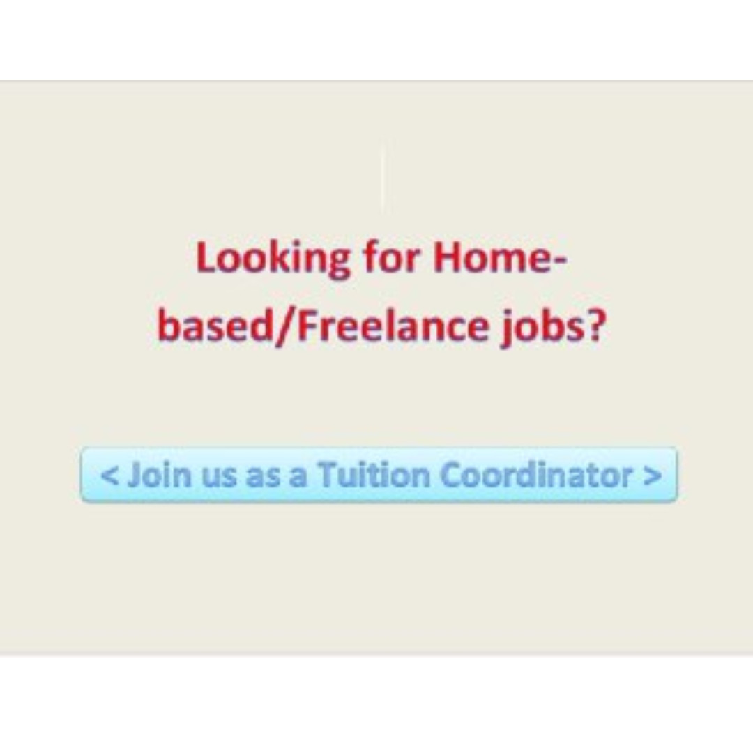 Tuition Coordinator Needed!!, Jobs, Internships & Others on Carousell