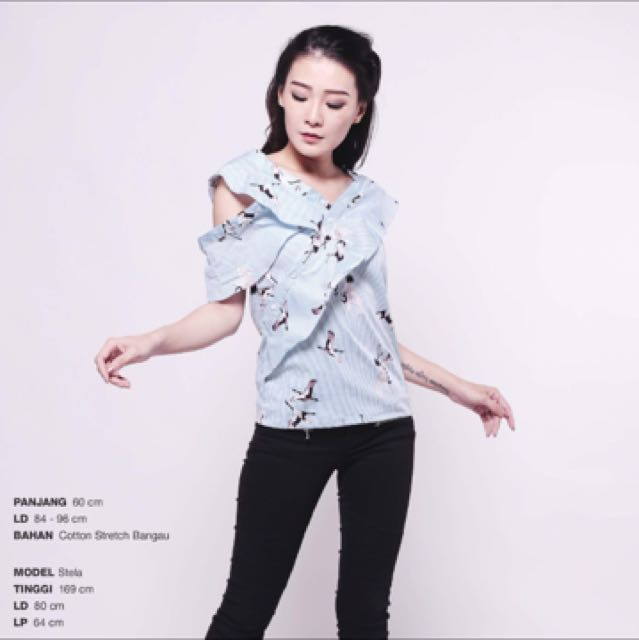 twisted seagull top (FREE ONGKIR JKT)