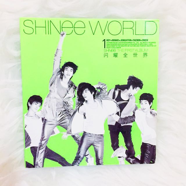 [Unsealed] SHINee 1st Album: SHINee World Type A