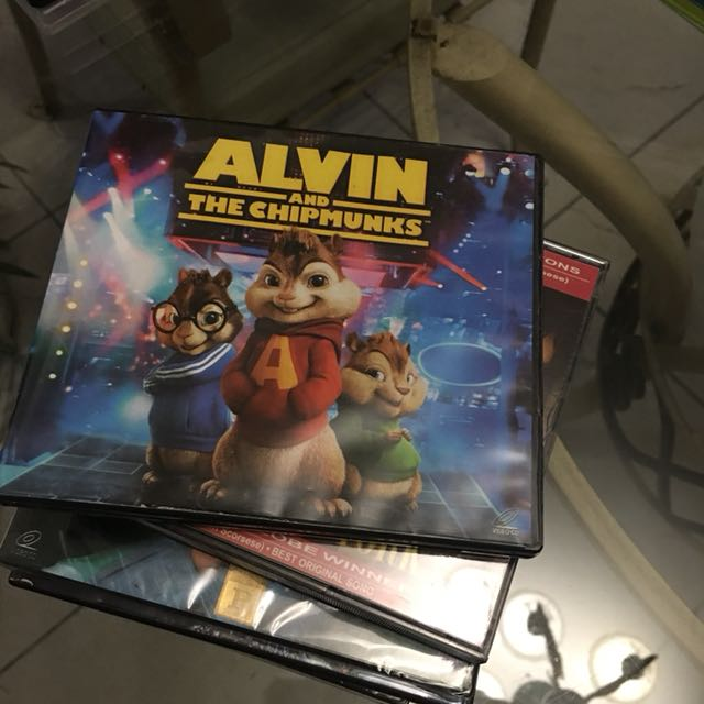 VCD Alvin and the Chipmunks