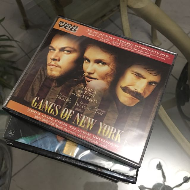 VCD Gangs of New York