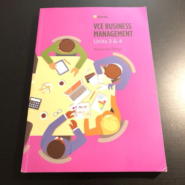VCE Business Management Edrolo Activity Book