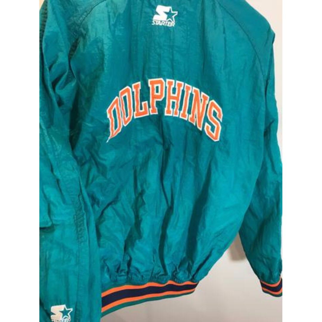 new concept 07a15 6e5eb Vintage Miami Dolphins Starter Pullover Size XS