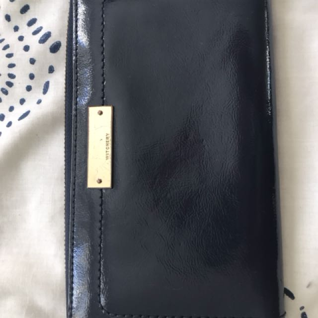 Witchery leather wallet Large