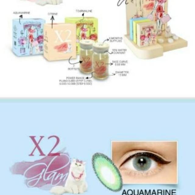 X2 Glam Softlens