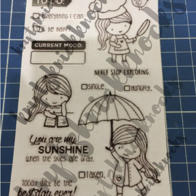 You are my Sunshine - Transparent Stickers