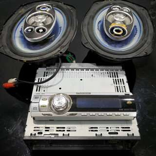Pioneer cd player -reduced rm82