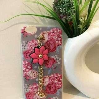 Floral case w/ tassel