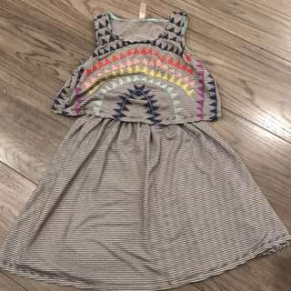 3 dresses for girls aged 6-8 fr US