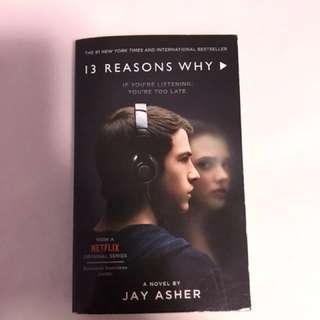 13 reasons why book (jay asher