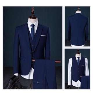 Man Suit (NAVY BLUE)