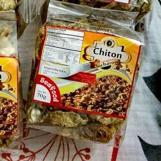 "Chiton ""Kibet"" Healthy Seafood Chicharon"