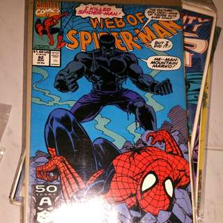 Web of Spider-Man #82