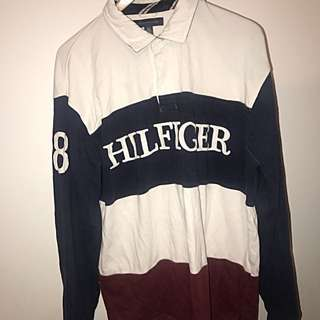 Tommy Hilfiger rugby polo size XL