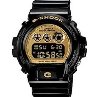 Authentic Casio G-Shock DW-6900CB-1D Sports Watch For Men (Black)