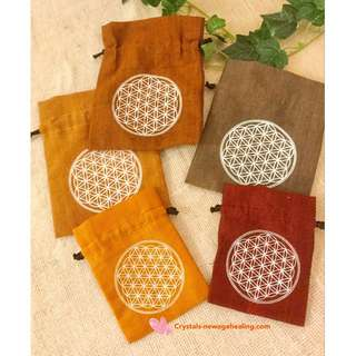 Flower of Life drawstring pouch * 2 sizes