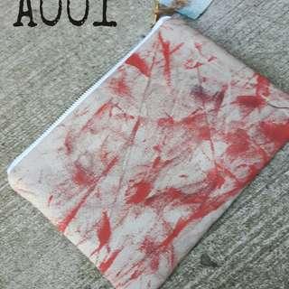 Bag, Makeup bag, Pencil bag handmade