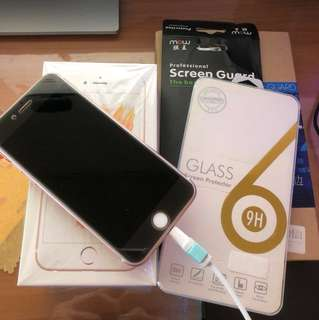 Wts iPhone 6s rose gold 64gb