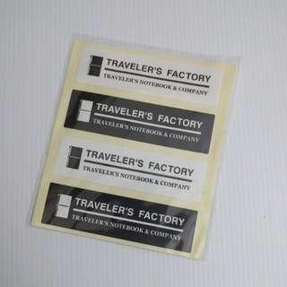 Midori Traveler's Notebook Traveler's Factory Stickers
