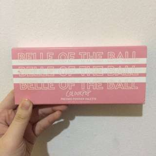 Authentic colourpop eyeshadow palette: belle of the ball