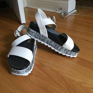 Womens Creeper Sandals