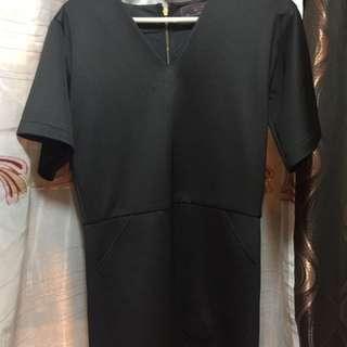 The ramp black dress