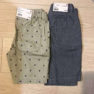 🚚 UNIQLO Boy 輕便短褲(藍條已售)