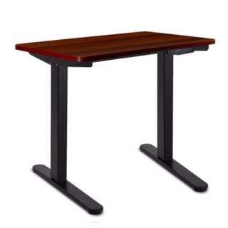 140CM Motorised Height Adjustable Sit Stand Desk Walnut SKU: HASD-BKDF-DB-WA-140