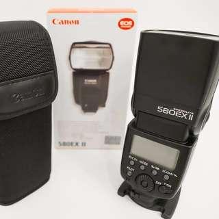 Canon Speedlite 580EX II 原廠閃光燈(公司貨)