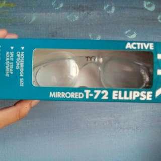 Rush!! TYR technoflex goggle clear (women's)