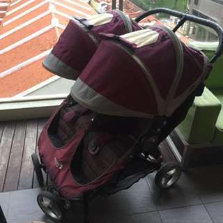 City Mini Twin Pram / Stroller